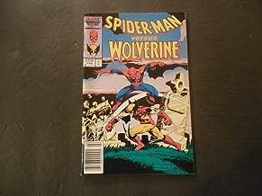 Spider-Man Versus Wolverine #1 Feb 1987 Copper Age Marvel Comics
