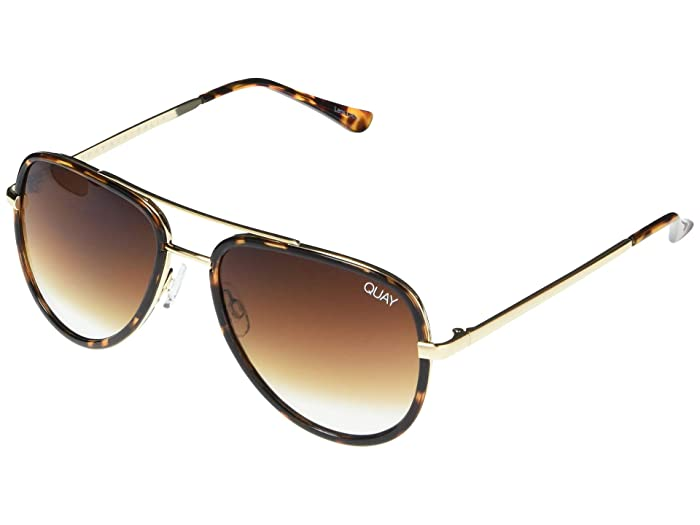 All in Mini (Tort/Brown Fade) Fashion Sunglasses