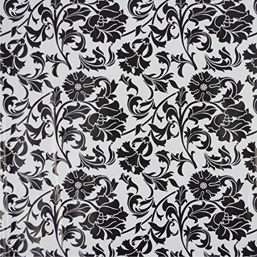 Klebefolie Selbstklebefolie Deko-Folie 11905 Cirrus Ornament grau 200x45cm