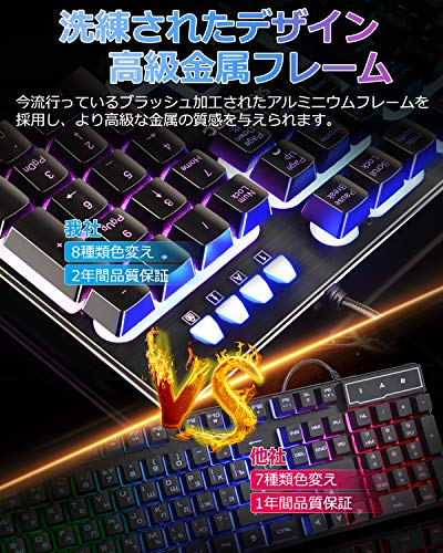 キングストン『ゲーミングキーボードHyperXAlloyElite(HX-KB2RD1-US/R1)』