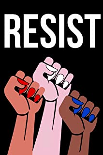 Resist Womens Fists Political Laminated Dry Erase Sign Poster 12x18