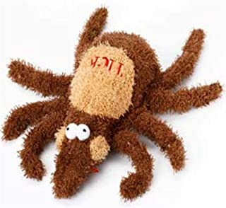 Multipet's 6-Inch Plush Tick Dog Toy, Medium