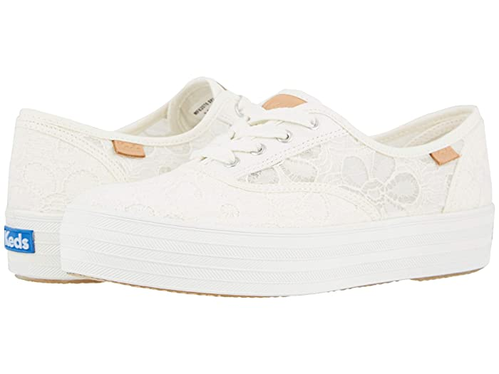 Keds  Triple CVO Festival Floral (Cream) Womens Shoes