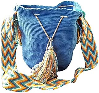 Wayuu Mochila Bag Authentic Large Handmade Colombian