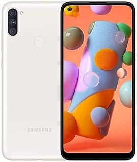 "Samsung Galaxy A11 6.4"" A115M/DS 32GB 2GB RAM (GSM Only, No CDMA) International Version - No Warranty (White)"
