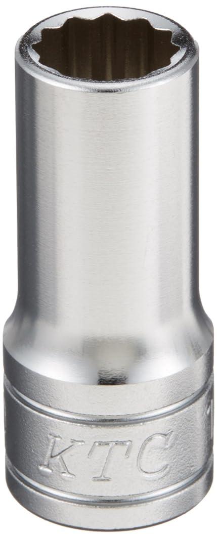 化粧ばかげたバーガーKTC(ケーテーシー) 9.5mm (3/8インチ) セミディープソケット (十二角) 10mm B3M10W