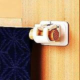 2 ganchos autoadhesivos para barra de cortina, soporte para barra de cortina,...