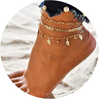 CRUISE Anklet SHIPS WHEEL Anklets for Women Double Waterproof Anklets for Women
