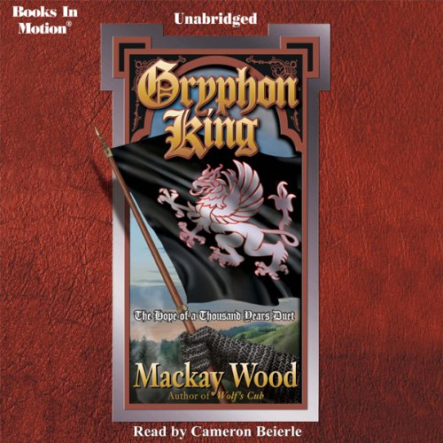 Gryphon King audiobook cover art