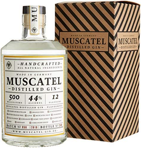 Muscatel Distilled Gin im Geschenkkarton 44% vol (1 x 0.5 l)
