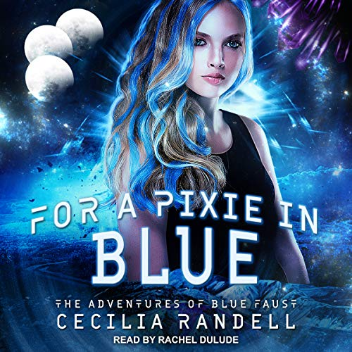 For a Pixie in Blue audiobook cover art