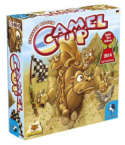 Pegasus Spiele 54541G -Camel Up Board Game - German Version