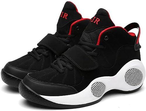 Chaussures De Basket-Ball Homme PU Cuir Shock Absorption Mode Sports baskets Antidérapants Résistant à l'usure