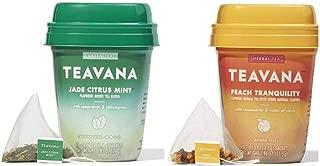 Teavana Cold Buster Medicine Ball Tea Peach Tranquility and Jade Citrus Mint