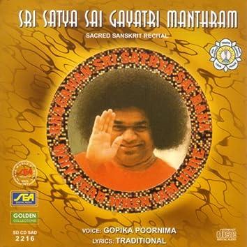 Sri Satya Sai Gayatri Manthram