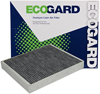 ECOGARD XC10022C Cabin Air Filter with Activated Carbon Odor Eliminator - Premium Replacement Fits Chevrolet Impala, Colorado / Cadillac ATS, XTS / Chevrolet Camaro, Cruze, Malibu / Cadillac XT5