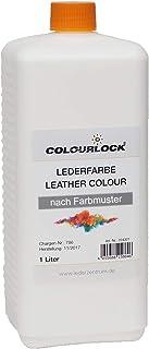 COLOURLOCK® Leerkleur 1 liter geschikt voor BMW Dakota Venetobeige voor het verkleuren of herverven van glad leer, aniline...