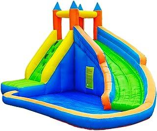 Castillo Inflable para Niños Tobogán para Niños Pequeños para El Hogar Trampolín Inflable para Áreas De Juegos para Niños Castillo Inflable para Escalar Al Aire Libre
