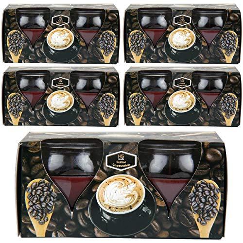 Geurkaarsen Creation verpakking van 10 Coffee Cappuccino