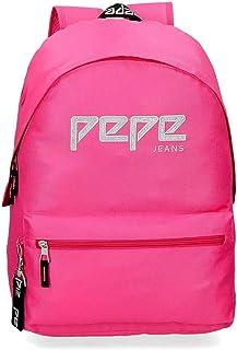 Amazon.es: Pepe Jeans - Rosa / Mochilas: Equipaje