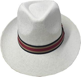 0f611261e6ea Mens Off White Cream Panama Fedora Trilby Summer Beach Straw Style Sun Hat  Holiday Festival Garden