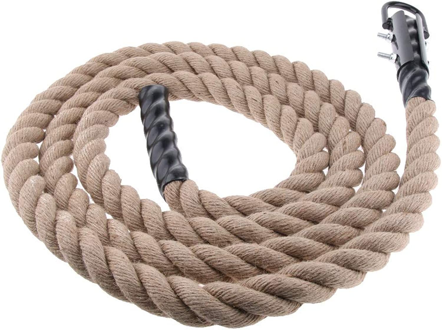 Baoblaze 38mm Climbing Jute Rope for Fitness Boxing Training Gym Exercise