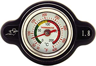 Outlaw Racing High-Pressure Temperature Gauge Radiator...