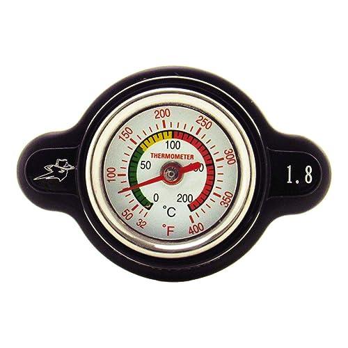 Outlaw Racing High-Pressure Temperature Gauge Radiator Cap 1.8 – Real-time temp monitoring