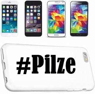 Reifen-Markt Hard Cover - Funda para teléfono móvil Compatible con Samsung S7 Galaxy Hashtag #Pilze en Red Social Diseño
