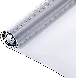 FXPCYGZ Nappe Transparente Rectangulaire Nappe Plastique éPaisse Nappe en PVC De 1 Mm D'éPaisseur en Plastique Transparen...