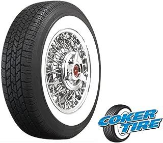 Coker Tire 597020 Coker Classic Nostalgia Whitewall Radial Tire 225/75R15