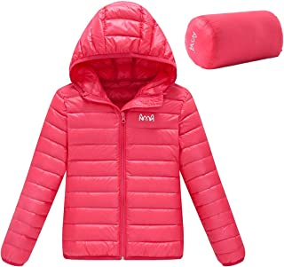 Ultra Light Girl's Lightweight Packable Short Down Jacket
