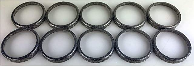 10Pk Tapered Exhaust Carbonized Gaskets comp w/Harley Twin Cam Big Twin EVO XL Quick Delivery