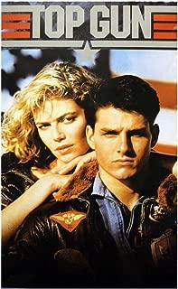 Top Gun Movie Tom Cruise and Kelly McGillis 80s Poster Print, 12