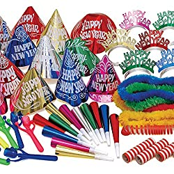 New Year's Multi-Color Party Kit
