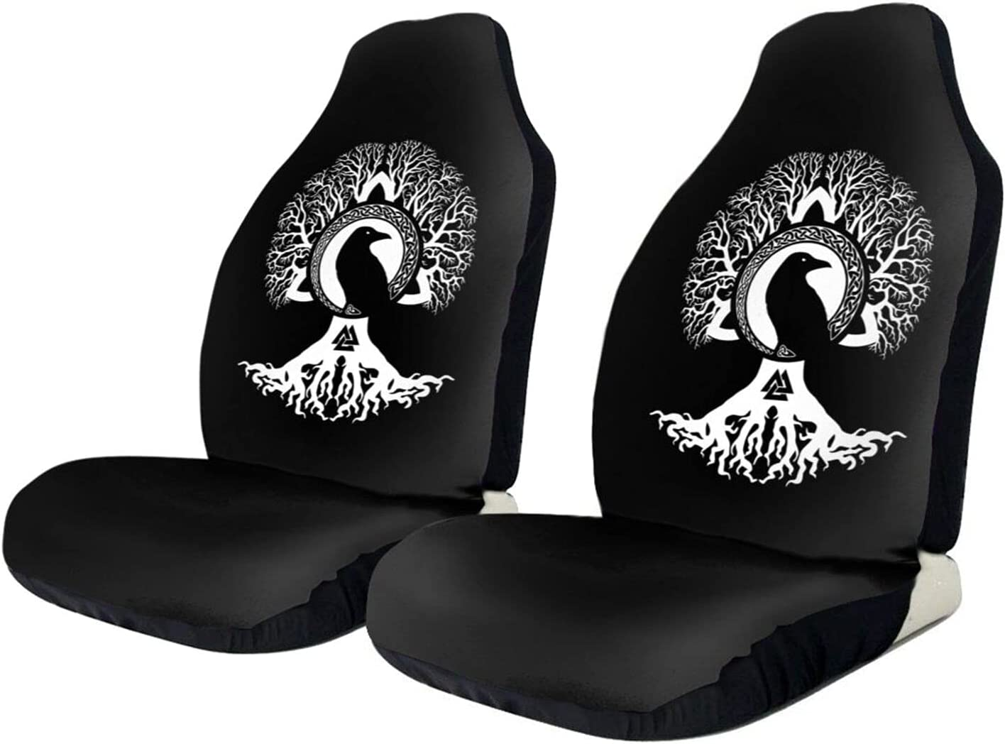 Vegvisir Yggdrasil Tree of Life Seat Cushion Cover Protector Cheap sale Car Max 83% OFF