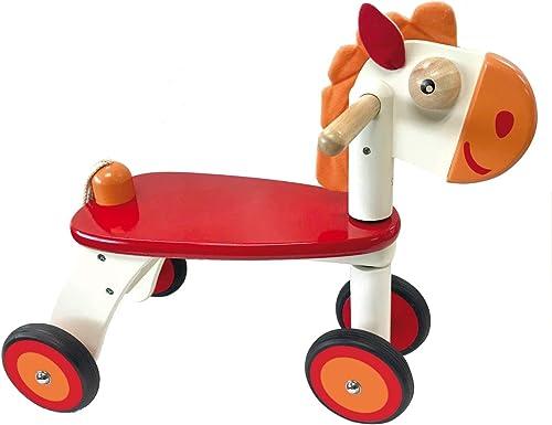 I'm Toy Bartl 111556 Rutscher Pferd aus Holz, Spitzen Qualität