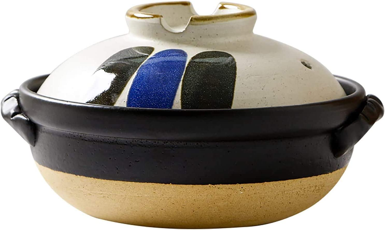 High material Stew pot Japanese Colorful Ceramic Cookware D Pot Casserole New Orleans Mall Hot