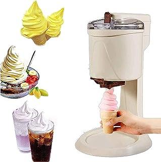 LWJDM Machine À Sorbetière 1L Service Doux, Machine À Crème Glacée Aux Fruits De Ménage Automatique Bricolage Force D'agit...