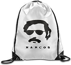 Unisex Who Hunt Pablo Escobar Narcos Season 2 Sports Drawstring Backpack Bag
