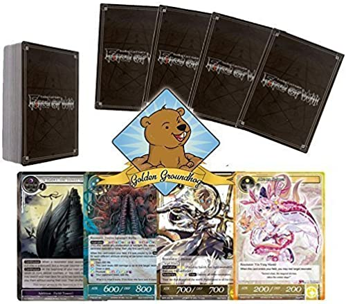 colores increíbles oroen Groundhog Groundhog Groundhog 50 Assorted Force of Will TCG Random Card Pack Lot with Rares by oroenGroundhog  solo para ti