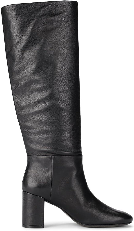 Tory Burch Woman's Brooke Black Nappa Boots