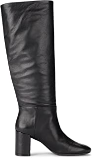Womens Brooke Leather Slouchy Knee-High Boots