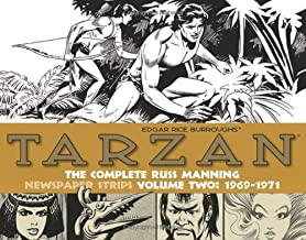 Tarzan: The Complete Russ Manning Newspaper Strips Volume 2 (1969-1971) by Russ Manning (31-Dec-2013) Hardcover