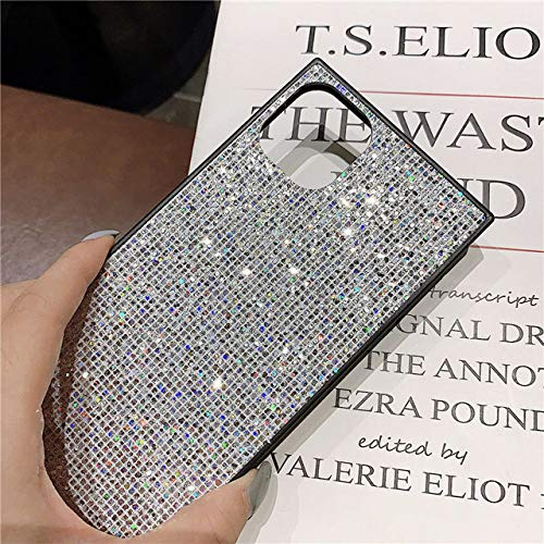 KESHOUJI Square Glitter Rhinestone Phone Case For iPhone 11 2019 XS MAX XR X Case For iPhone 6s 6 8 7 Plus Cover Fashion Diamond Case,Style 1,For iPhone XR