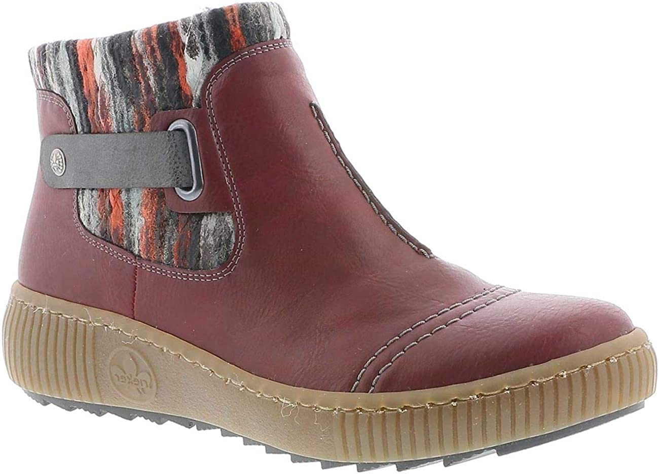 Rieker Women's Felicitas Z6684 Ankle Bootie 5.5 Challenge the lowest San Antonio Mall price of Japan Multi Red