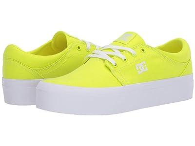 DC Trase Platform TX (Bright Yellow) Women