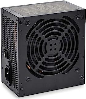Deepcool DE-600 V2 High Efficiency Gaming True 450W Power Supply Unit with 120mm PWM Fan, 160-264V AC