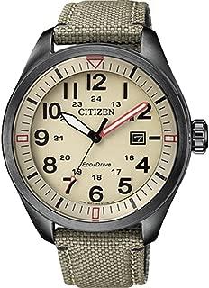 Reloj Analógico para Hombre de Cuarzo con Correa en Tela AW5005-12X