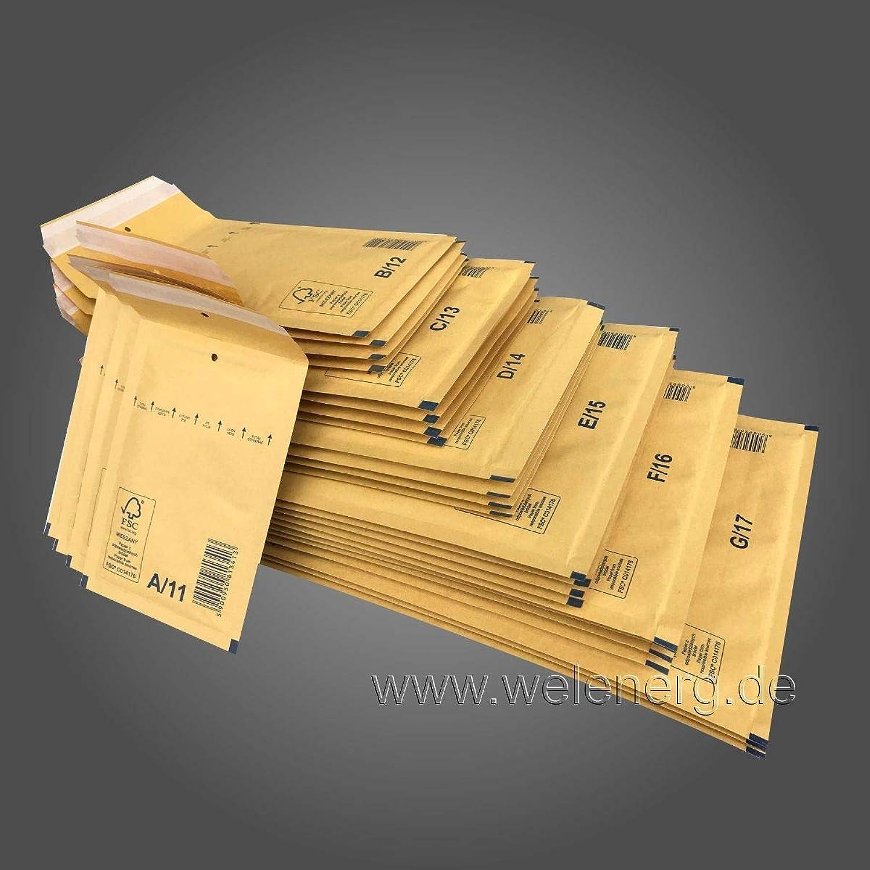 1000   D4-200x275 mm LuftpolsterGrünaschen Versandtaschen Umschläge Umschläge Umschläge Luftpolsterumschläge Luftpolsterversandtaschen - Frabe [ Braun ] B07G98C1BW    | Luxus  4dbfe3
